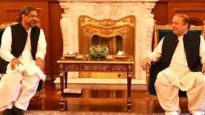 PM Shahid Khaqan holds important meeting with Sharif Brothers in Raiwind