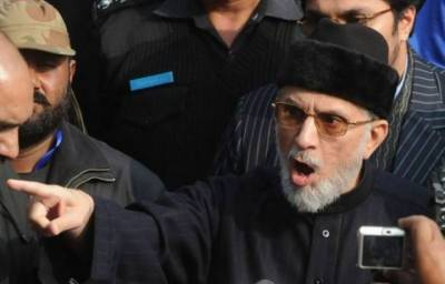 Dr Tahir ul Qadri says Nawaz Sharif is taking revenge from Pakistan over his ineligibility