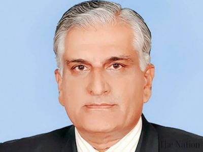 Law Minister Zahid Hamid releases a video message for the nation