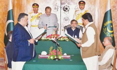 Federal Minister Mir Dostain Khan Domki resigns