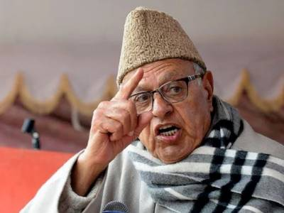 Former CM Farooq Abdullah challenges Modi to raise Indian flag at Srinagar
