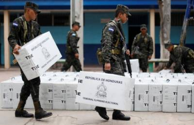 Opposition rejects exit poll showing Honduras president winning vote