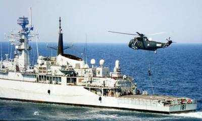 Pakistan Navy Ship participates in the 50th anniversary of ASEAN international Fleet Review