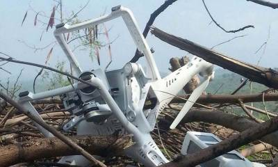 Pakistan Rangers shot down Indian Spy drone at Head Sulemanki Border