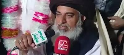 Allama Khadim Rizvi announces Lahore-Islamabad march on Jan 4