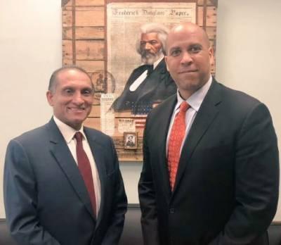 Ambassador Aizaz meets Senator Cory Booker