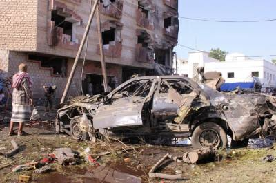Car bomb attack kills two in Yemen