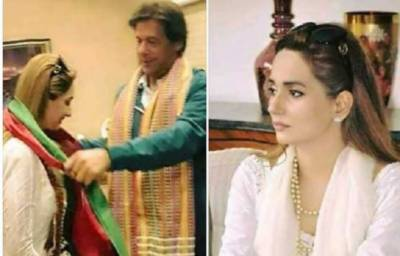 Fashion Designer Aisha Warsi joins PTI and Arif Nizami could not stop his prediction