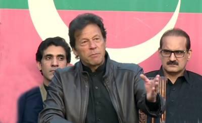 Imran Khan says Qatari Prince came to Pakistan for Port Qasim deal