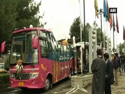 Intra Kashmir bus service restarts