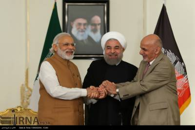 Iranian President Rouhani to inaugurate Indian funded Chabahar port along with Indian - Afghan Ministers