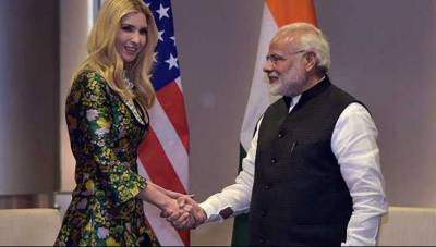Ivanka Trump urges India to boost women in workplace