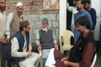 Kashmiri leaders concern over plight of detainees