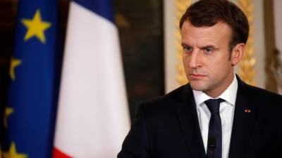 Macron calls trafficking of African migrants a crime against humanity