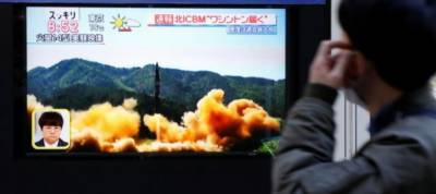 N.Korea missile was ICBM, flew 1,000 km: Pentagon
