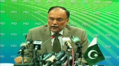 PML-N is the biggest champion of freedom of press in Pakistan: Ahsan Iqbal