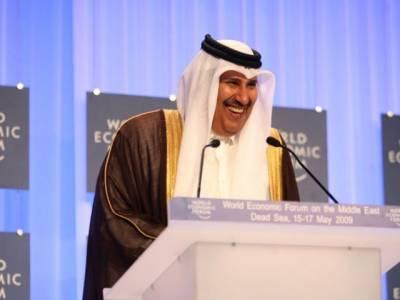 Qatari Prince Hamad Bin Jasim arrives in Lahore