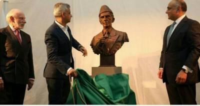 Quaid e Azam statue unveiled in historic London Museum