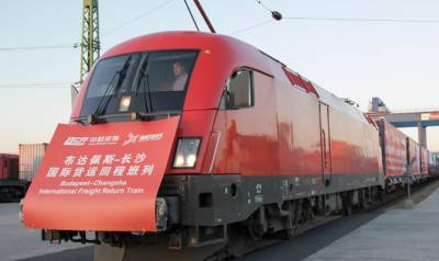Regular express freight train to link China with Russia