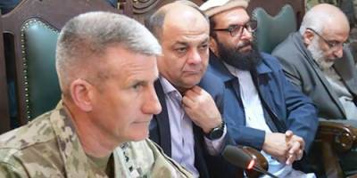 US General John Nicholson in Afghanistan hits out at Pakistan