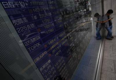 Asian stocks fall as tech bellwethers hit by fear boom has peaked