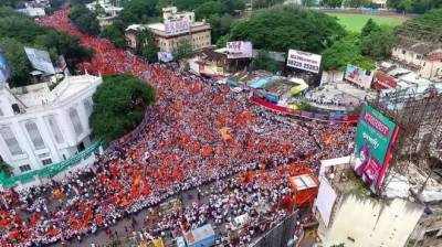 Crimes against women on rise in India: millions hold silent protests across Maharashtra