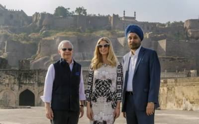 Indian media mock Ivanka Trump dress, call it lacking a class