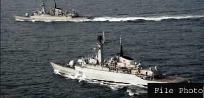 Pakistan Navy Ships dock at Iranian port for bilateral drills
