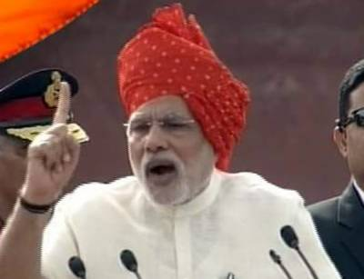 PM Narendra Modi stops his Jalsa speech for 5 minutes in respect of Azaan from mosque
