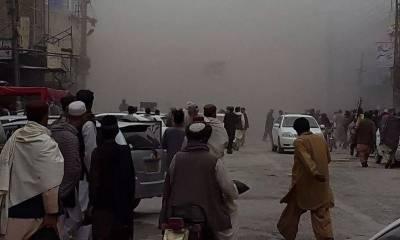 Blast in Chaman, Balochistan