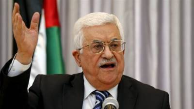 Palestinian President warns of destructive effects