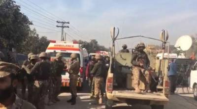 Peshawar University attack: Huge quantity of arms and ammunition recovered from dead terrorists