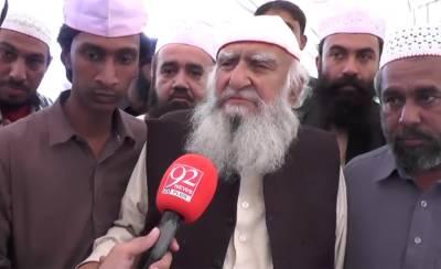 Pir Hamiduddin Sialvi rings alarm bells for Rana Sanaullah
