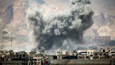 Syrian govt used cluster munitions in Damascus suburb: AI