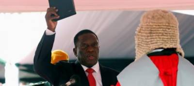 Zimbabwe's Mnangagwa names senior military officials to cabinet posts