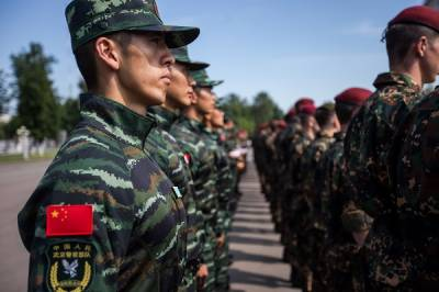 China - Russia hold joint counter terrorism drills