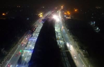 CM Punjab inaugurates Beijing underpass