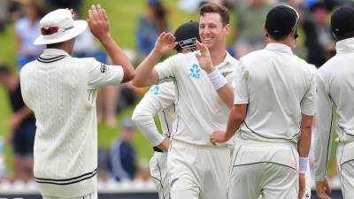 Cricket: New Zealand beat West Indies by innings and 67 runs