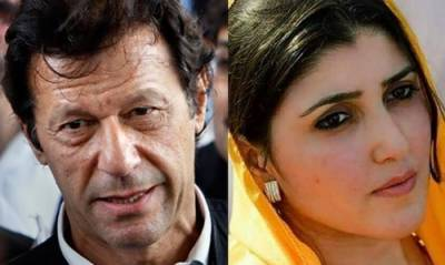 Disgruntled MNA Ayesha Gulalai announces to contest elections against Imran Khan