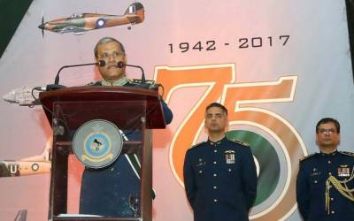 PAF remained at forefront in war on terror: Air Chief