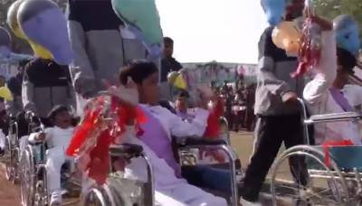 Sports event held at army-run school for special children in Bahawalpur