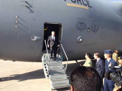 US Defence Secretary James Mattis arrives in Pakistan with a tough message