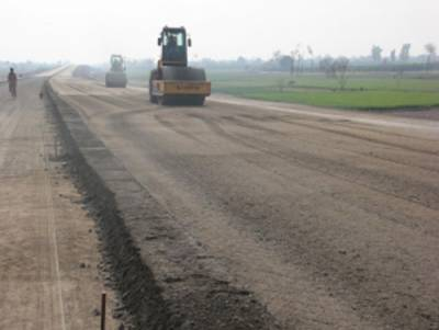Work on Sukkur-Multan Motorway in full swing