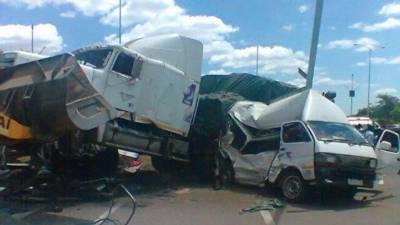 Zimbabwe truck accident kills 21