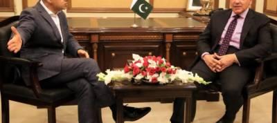 London mayor Sadiq Khan calls on CM Shahbaz Sharif