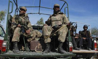 Security Forces destroy IED making factory, terrorist caves and compounds