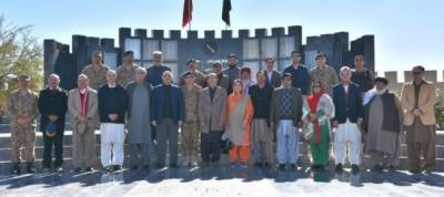 Standing committee on defence delegation visits Miranshah