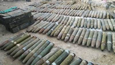 Huge cache of arms, ammunitions recovered by security forces: ISPR