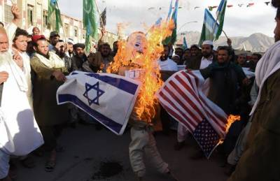 Thousands of Pakistanis throng major cities against US - Israel Jerusalem move