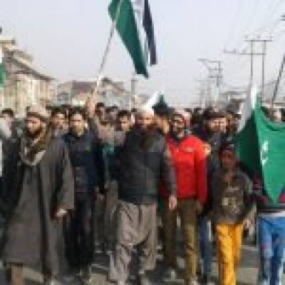 APHC holds forceful demonstrations against Donald Trump decision on Jerusalm